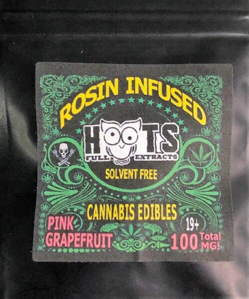 HOOTS ROSIN INFUSED THC GUMMIES